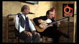 Al cante JOAQUÍN GARRIDO y al toque ANTONIO CENTENERA
