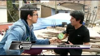 Inaudito: Policías matan a un hombre en violento desalojo en Cajamarca