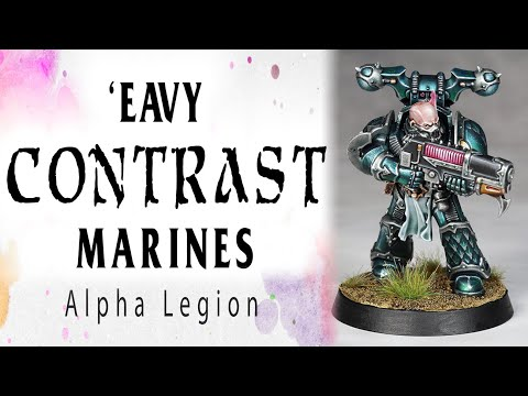 'Eavy Contrast Marines - Alpha Legion from YouTube · Duration:  29 minutes 11 seconds