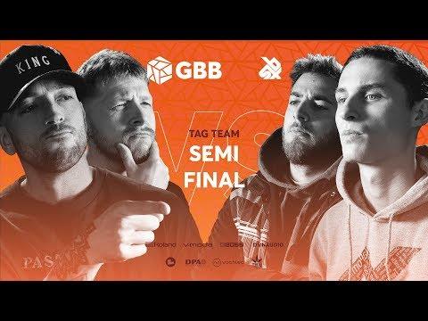 16BITZEE vs MIDDLE SCHOOL |  Grand Beatbox Battle 2019 | Tag Team Semi Final