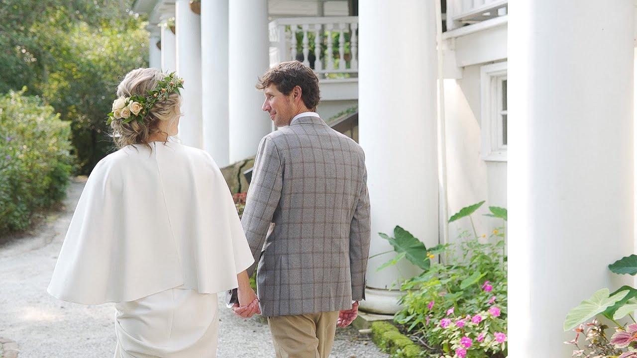 Charleston Elopement in Magnolia Gardens