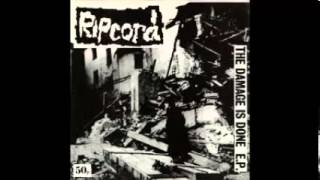 RIPCORD - The Damage Is Done - EP