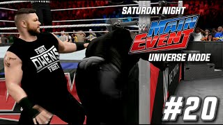 wwe 2k15 universe mode snme episode 20 fight owens fight snme