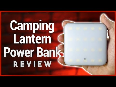 myCharge Adventure Power Lumens Review - Camping Lantern Power Bank