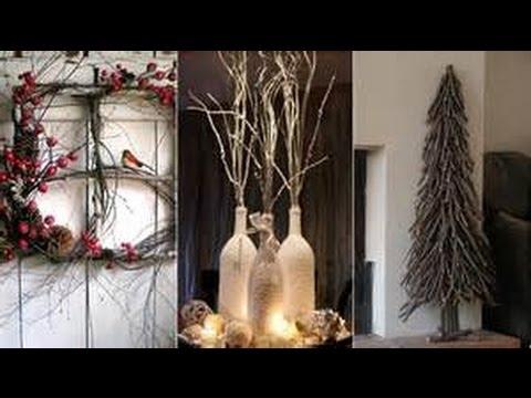 Decora tu navidad con ramas secas 40 ideas bien bonitas - Ramas de arbol para decoracion ...