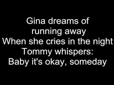 Bon Jovi - Livin' on a Prayer lyrics