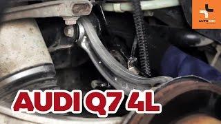 Sådan udskifter du en uafhængig hjulsuspensions øvre kontrolarm bagtil på Audi Q7 4L GUIDE | AUTODOC