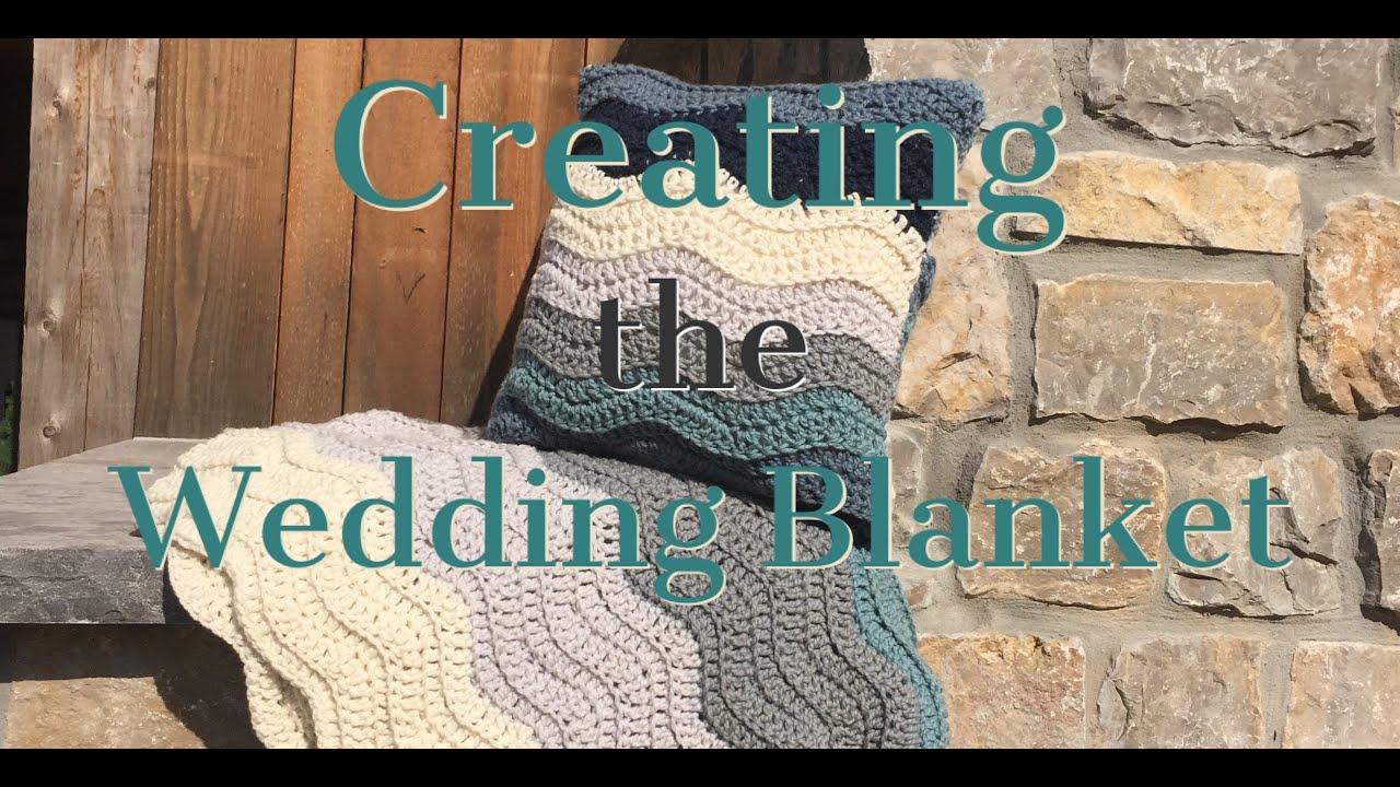 Creating the Wedding Blanket Crochet Pattern - YouTube