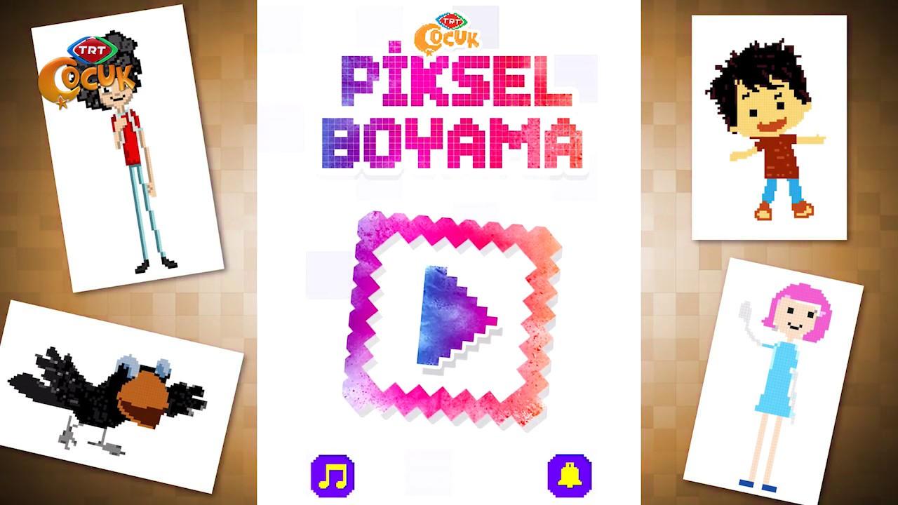 Trt Cocuk Piksel Oyun Incelemesi Youtube