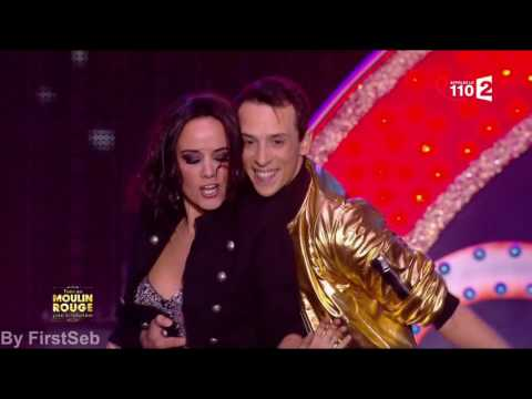 Alizée chante et Danse avec Grégoire sur Abba Waterloo dans Tous au Moulin Rouge pour le Sidaction