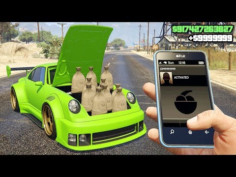 NEW GTA 5 ONLINE MONEY TRICK! (easy) thumbnail