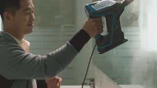 비쎌 슬림 스팀청소기 강형욱  07욕실물때