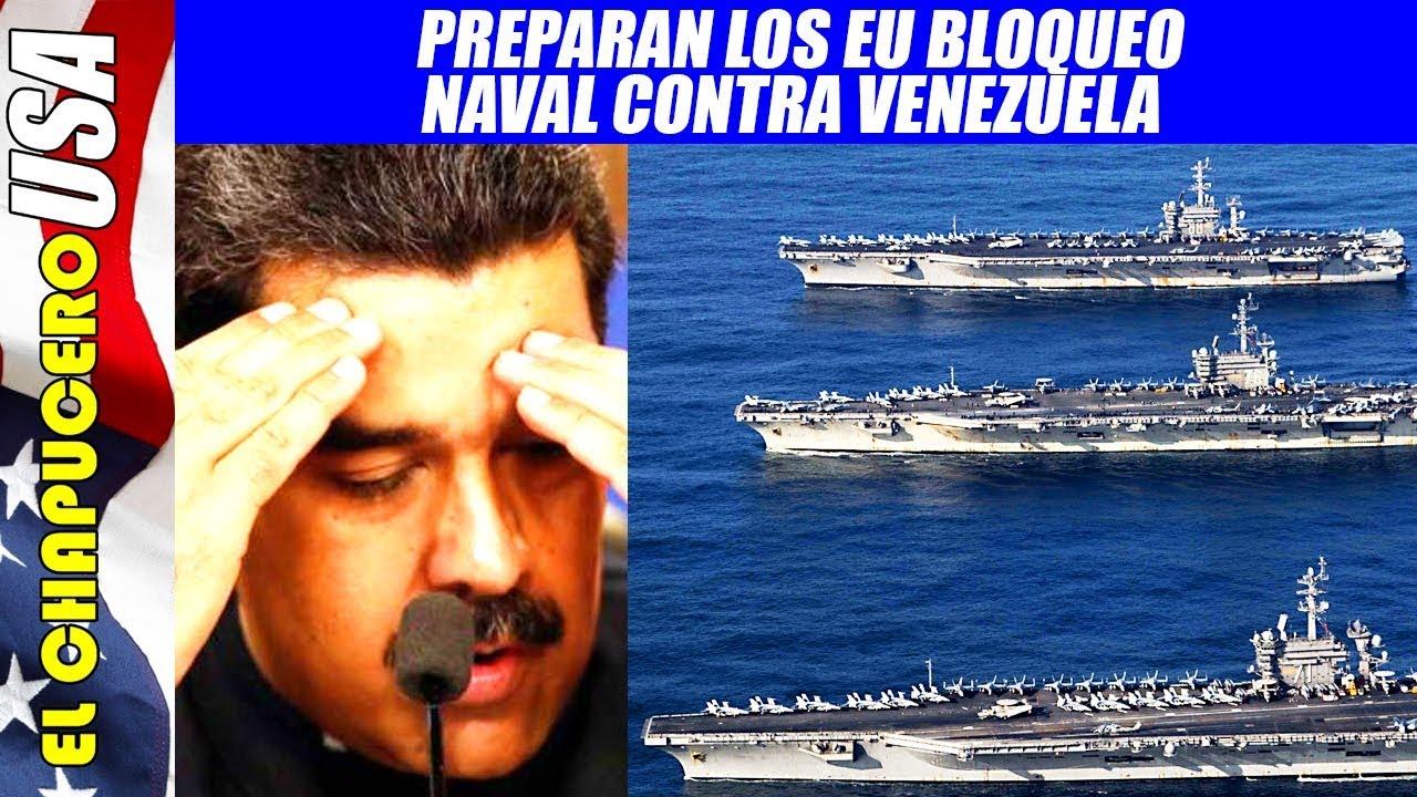 Resultado de imagen para bloqueo naval a venezuela