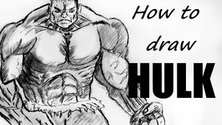 Ep. 39  How to draw the HULK