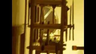 handmade wooden clock assembly by laszlo