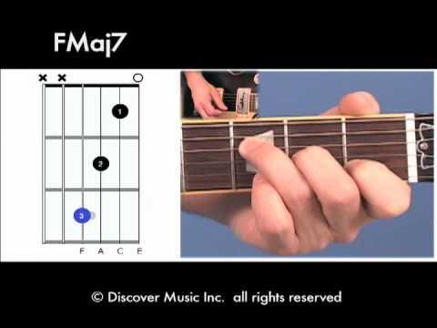 Guitar Chord: Open FMaj7 - YouTube