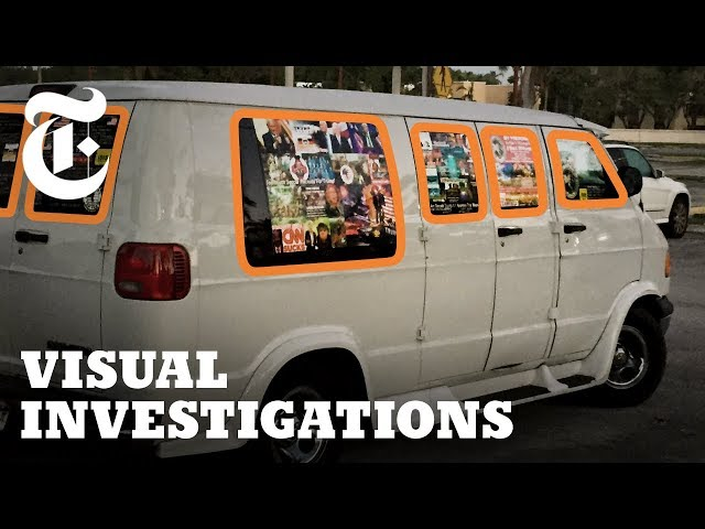 What the Pipe Bomb Suspect's Van Tells Us | NYT - Visual Investigations