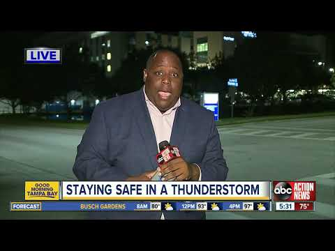 Kevin Campbell - 8 Injured My Lightning Strike on Clearwater Beach