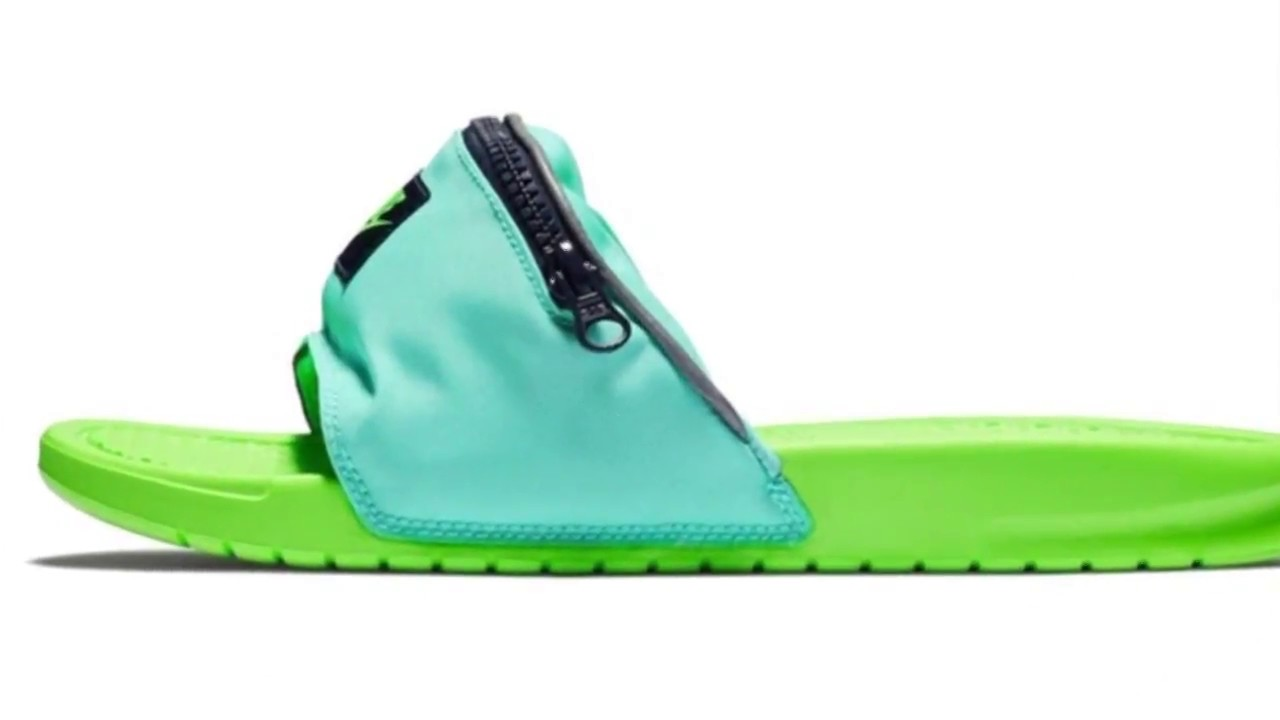 Fanny pack sandals coming - YouTube 82eb517cf