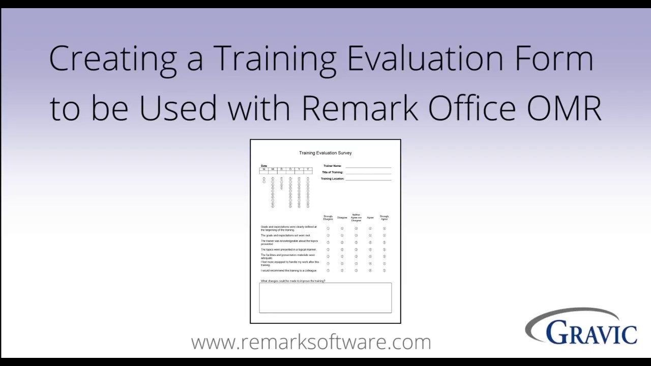 training evaluation form word