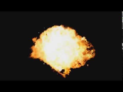 Футаж — Взрыв FD Для монтажа