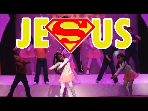 Jesus You're My Superhero - Kids Praise Dance - Hillsong Kids