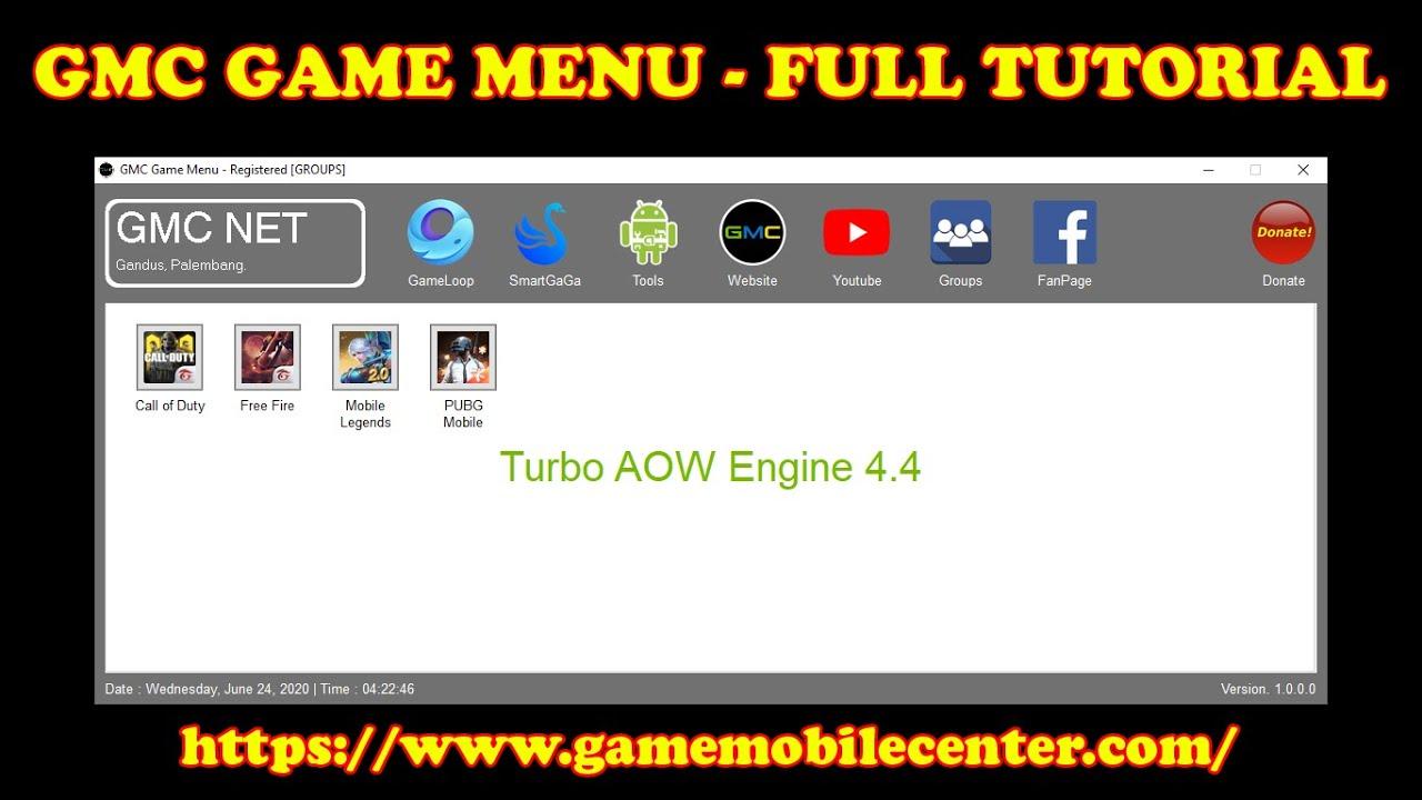 GMC Game Menu - Tutorial Create Component, Folder Game  And Instal Game
