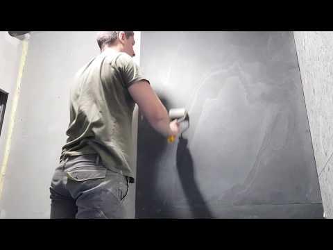 КАМЕННЫЙ ШПОН!!!!! Как клеить шпон  #какклеитькаменныйшпон #каменныйшпон #шпон