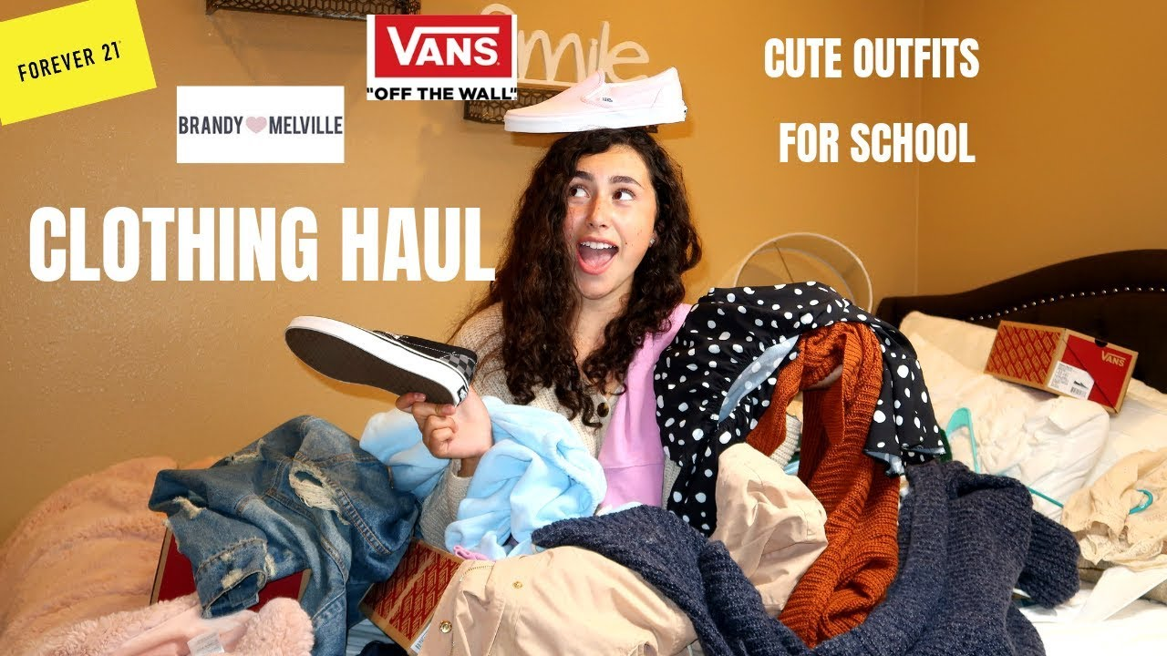 Clothing Haul+Cute Outfit Ideas