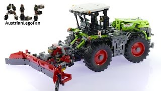Lego Technic 42054 Claas Xerion 5000 Trac VC B-Model - Lego Speed Build Review