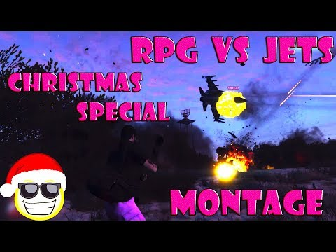 RPG VS JETS NO DEATH MONTAGE (CHRISTMAS SPECIAL)