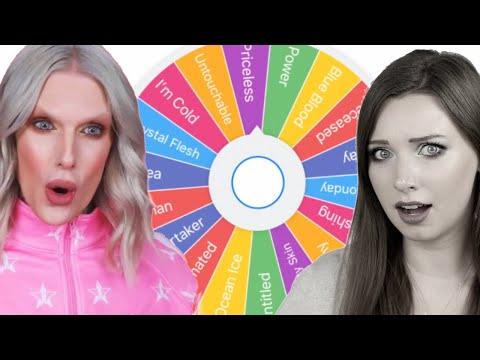 Wheel Picks My Jeffree Star Makeup | Fun Friday thumbnail