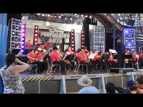 Stevie Wonder 2013 Disneyland by Buchser Middle School Advanced Symphonic Band