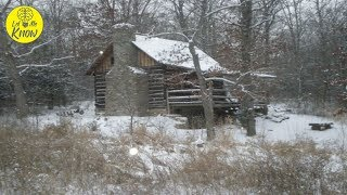 Man Restores A Neglected 1830s Cabin To Its Former Glory