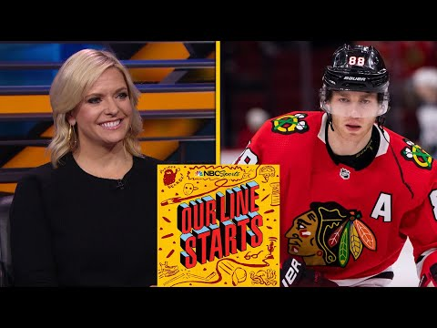 Blackhawks' winning streak, Patrick Kane reaches 1,000 points | Our Line Starts | NBC Sports