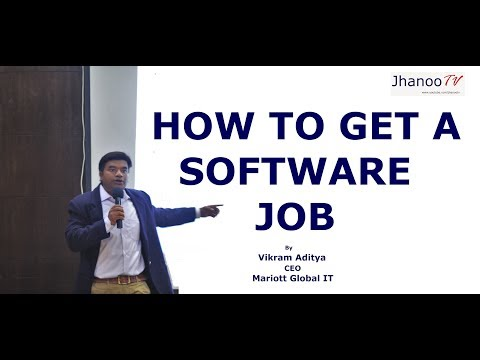 How To Get A Software Job , Part 1