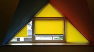 Montaż rolety do okna trójkątnego (i trapezowego)