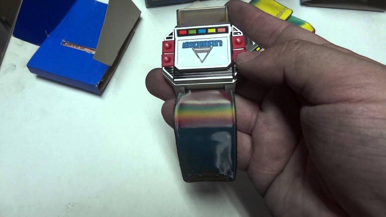Bandai Vintage 1984 Bioman Technobrace Morpher Quick
