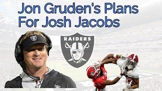 Film Study: Gruden to Build Saints 2-Split RB Look with Josh Jacobs