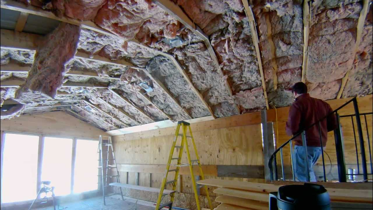Installing 1x7 Tongue And Groove Pine