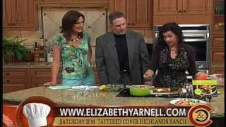 Elizabeth Yarnell's Glorious One Pot Meal Recipe Demonstration For Feta Shrimp