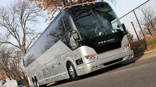 2018! Prevost Coach Bus rental in NYC - Brand NEW