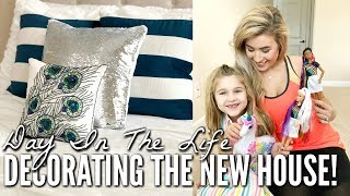 DECORATE WITH ME BEDROOM AND PORCHES | DAY IN THE LIFE MOM OF TWO | Love Meg 2019
