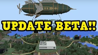 HOW TO GET THE BETA UPDATE For Minecraft Xbox 1.2