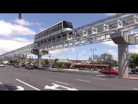 Oakland International Airport line Tram BART