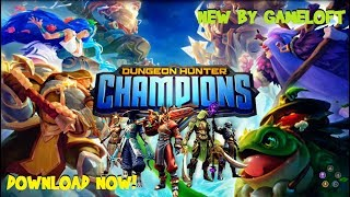 DUNGEON HUNTER CHAMPIONS: Mobile RPG with MOBA Gameplay and Download