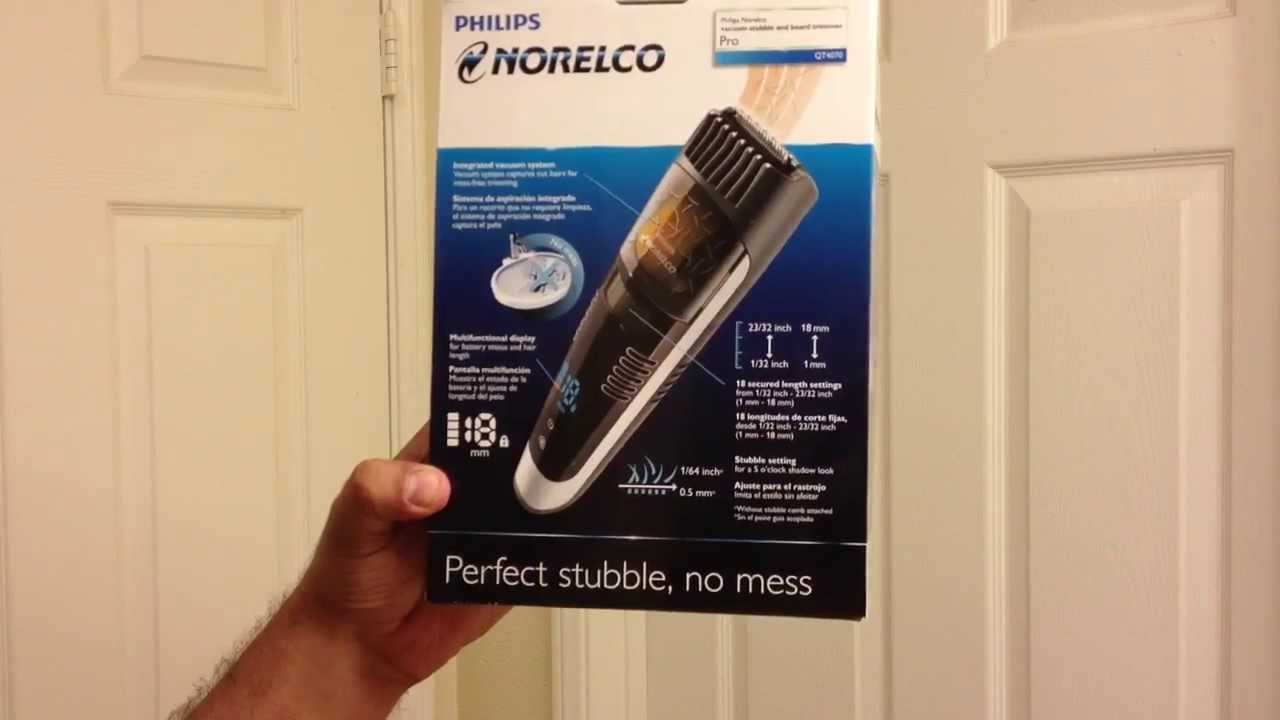 philips norelco qt4070 lithium ion beard trimmer review. Black Bedroom Furniture Sets. Home Design Ideas
