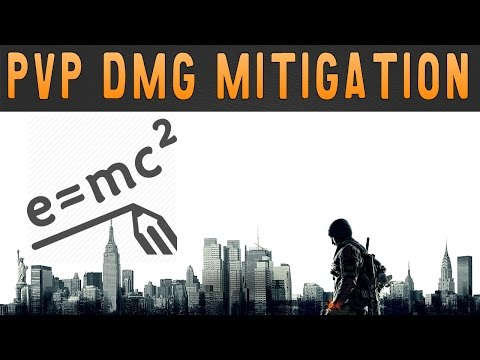 PvP Damage Mitigation   The Division   Character Building EP:07