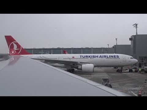 THY - Turkish Airlines A330 Flight TK824 Full Trip - From Istanbul To Beirut (2020-02-08)