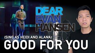 Good For You (Evan/Jared Part Only - Instrumental) - Dear Evan Hansen